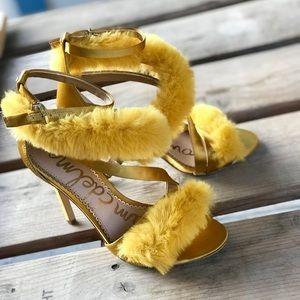 Sam Edelman Adelle Tuscan Yellow Pumps